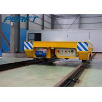 Battery Powered Electric Flat Rail Transfer Cart with Wireless Remote and Hand Combined crane Manufactures