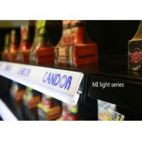 Delicate Flat Type LED Shelf Clip Light made by Aluminum and Acrylic for shelf tag lighting Manufactures