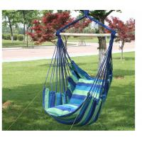 China Thick Canvas Rocking Portable Camping Hammock Dormitory Bedroom Hanging Chair on sale