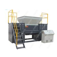 China High Torque Used Plastic Shredder Machine , Double Shaft Plastic Scrap Grinder Machine on sale