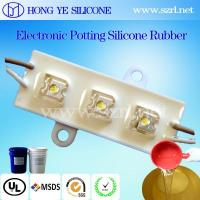 China Electrical insulation platinum silicone gel/silicone rubber compound htv with transparent on sale