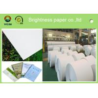 787mm Postcard Printer Paper Jumbo Rolls , Lightweight Banner Printing Paper Manufactures