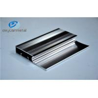 6463-T5 Polishing Aluminum Extrusion Profiles Products With Silver Color Manufactures