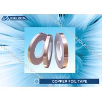 Self Adhesive EMI Shielding Copper Foil Tape With ROHS , SGS , CTI Certificate Manufactures