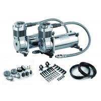 DUAL Pack Air Ride Suspension Compressor For Trucks , Heavy Duty Air Compressor Manufactures