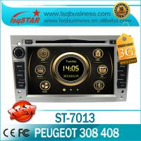 China Radio / Bluetooth / IPOD Peugeot DVD GPS , Car Media Player For Peugeot 308 / 408 ST-7013 on sale