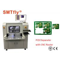 Stand Alone CNC PCB Depaneling Router Machine With 80mm/S , 0.1mm Cutting Precision Manufactures