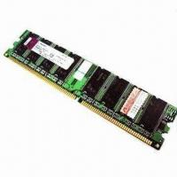 China 1GB DDR 400MHz PC3200 RAM Memory Module for Desktop, Available with 184 Pins on sale
