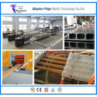 China High Output WPC Profile Production Line for Wood Plastic Pallet FlooringWall Clading Profiles on sale