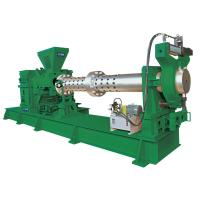Strainer Extruder Rubber Processing Machine , Filter Making Machine High Effcient Manufactures