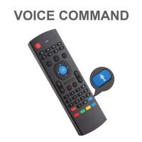 2.4G Air Mouse Remote Control Keyboard Learning Voice Input for Android TV Box Manufactures
