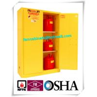 Laboratory Grounding Corrosive Chemical Storage Cabinets With Double Vents Manufactures
