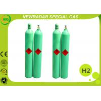 China Colorless High Purity Gases H2 Hydrogen Gas 0.8L - 80L Cylinders For Coolant on sale