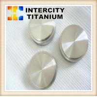 China 99.7% 99.995% High Purity Titanium Round sputtering target on sale
