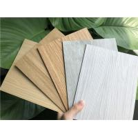 China Wood Grain Vinyl Plank Flooring Eco Friendly Light Weight Water Resistant on sale