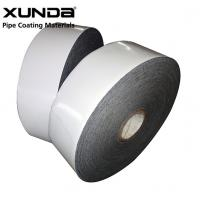 PE Gas Pipe Insulation Tape , Black / White Color Wrapping Tape For Pipe Manufactures