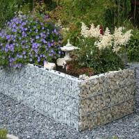Hot Dipped Devoran Garden Gabions , Weld Mesh Panels Sample Available Manufactures