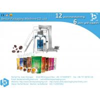 2020 New design whole bean coffee packaging machine PE roll film Manufactures