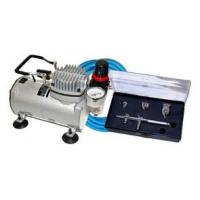 Professional Airbrush Tattoo Kit Machine with Single Cylinder Piston Air Compressor 1/6HP Manufactures