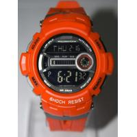 Bright Color Shock Resist Sports Wrist Watch 5ATM With Stopwatch Function Manufactures