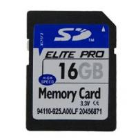 16GB SD memory card for portable electronic devices