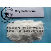 China 99%  purity Oxymetholone/Anadrol CAS 434-07-1 oral steroids powder for builing body on sale