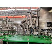 CE Carbonated Drink Filling Machine / Aerated Drink Sparkling Water Bottling Machine Manufactures