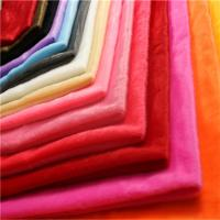Buy cheap Warp Knit Stuffed Animal Fur Fabric Plain Style Customized Color from wholesalers