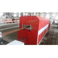 China Semi Automatic Plastic Sheet Extrusion Line For WPC Door / Windowsill Board on sale
