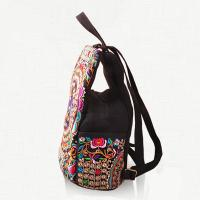 Quality 2016 new design china style minor enthnic embroidery girls backpack for sale