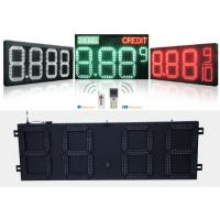 Gas Station Digital Led Gas Price Signs With Controller Remoter , Wide Viewing Angle Manufactures