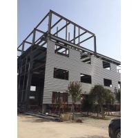 China Simple High Industrial Steel Structures W Shape Fabricated Clear Span Steel Buildings on sale