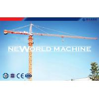 8 Tons QTZ 100 (6012) Tower Crane For Building Construction Manufactures