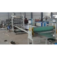 1000kg High Output PVC Sheet Extrusion Line For Steamship / Ceiling Plate Manufactures