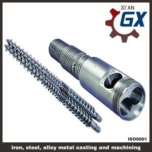 China bimetallic conical twin screw barrel on sale