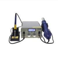 Buy cheap Hot Air Gun 75W 120l/min Repair Soldering Station LED Display from wholesalers