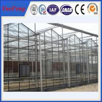 HOT!!! Extruded Aluminium Profile Aluminum Frame Greenhouse Manufactures