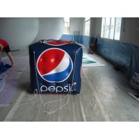 Quality 8ft Large Inflatable Square Balloon 540x1080 Dpi High Resolution Digital Printing for sale
