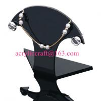 Acrylic Necklace Display , Perspex Necklace Holders, Plexiglass Necklace Display Stand Manufactures