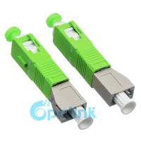 LC-SC/APC Female To Male Multimode Fiber Optic Adapter Plug In Fiber Adapter Hybird Preset Fiber Adapter Manufactures