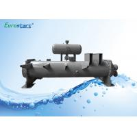 Flooded Type Water Chiller Finned Tube Heat Exchanger Double Circuits Manufactures