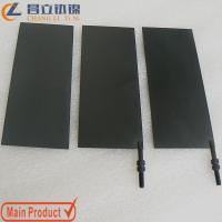 Titanium electrode plate for swimming pool disinfection Manufactures