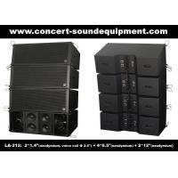 Dual 12 Inch 1560W Line Array Speaker With Neodymium Drivers For Concert , Living Event Manufactures