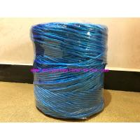China 8g/m Professional Blue Polypropylene Twine Recycled Rope Tenacity Over 252KG on sale