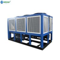 Screw Type Compressor 60 HP Water Cooling System Air Cooled Screw Chiller Manufactures