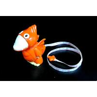 Orange Dinosaur Ruler Plastic Toy Figures For Kid Play Multi Shapes Available Manufactures