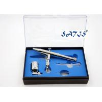 7cc Cup Dual Action Airbrush 0.3 Nozzle Silver Color Model Decoration Tattoo Makeup Manufactures