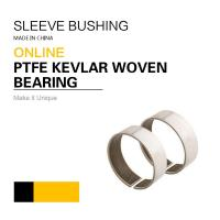 PTFE Kevlar Woven Sleeve Bearings | Purchase Order Now 30% Off 1 Order Manufactures