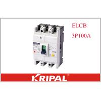 KRIPAL UKM30L-100S 3P CE Leakage / Residual Current Molded Case Circuit Breaker Earth Leakage ELCB Non delay type Manufactures