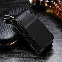 Black Color Leather Ecig Case Full Protection Compact Size Light Weight Manufactures
